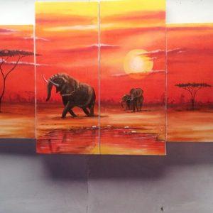 elephant-4-panel